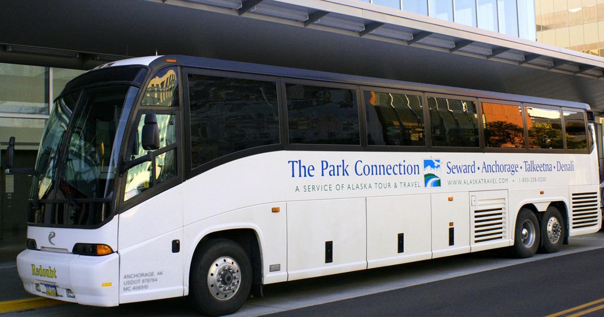 Alaska bus lines park connection motorcoach for Park place motors service
