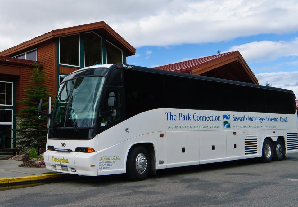 Alaska Bus Lines Park Connection Motorcoach