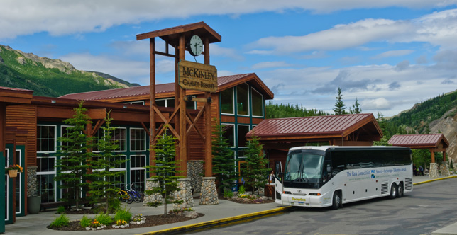 Denali Park to Whittier Alaska Park Connection Bus Line