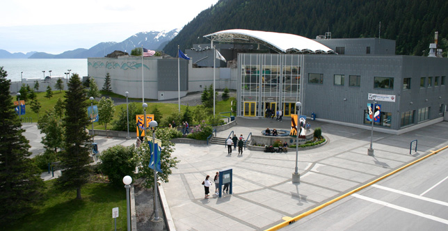 Visit the Alaska SeaLife Cetner in Seward.