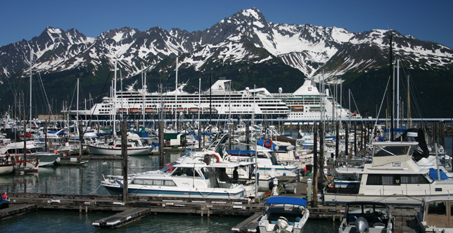 Anchorage Seward Cruise Transfers Park Connection Bus Line