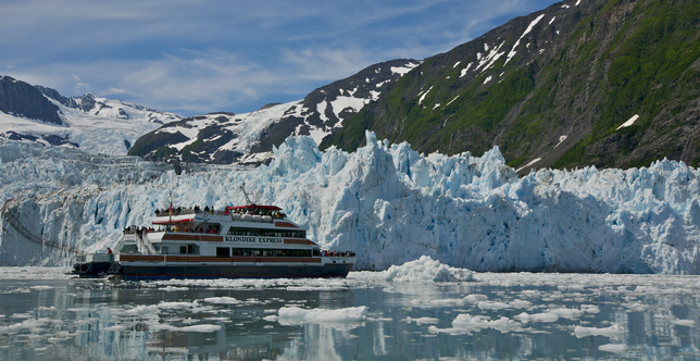 Prince William Sound glacier cruise from Whittier.