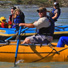 Raft trip near Talkeetna in front of Mt. Denali.